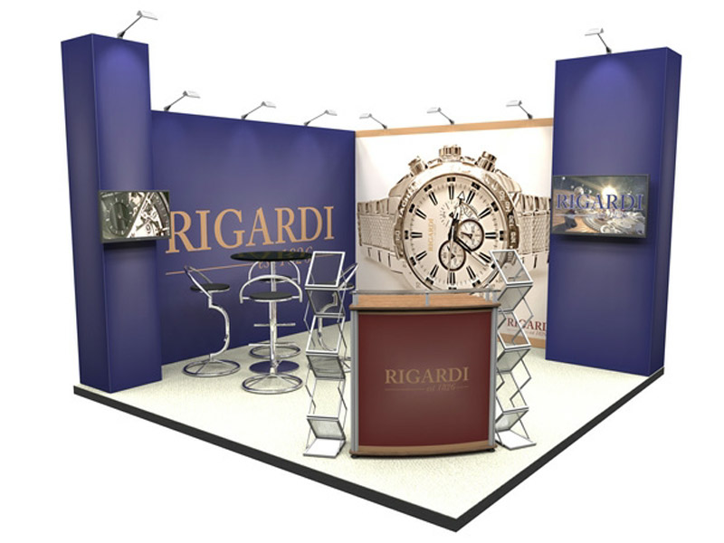 modular exhibition stand cheap 8