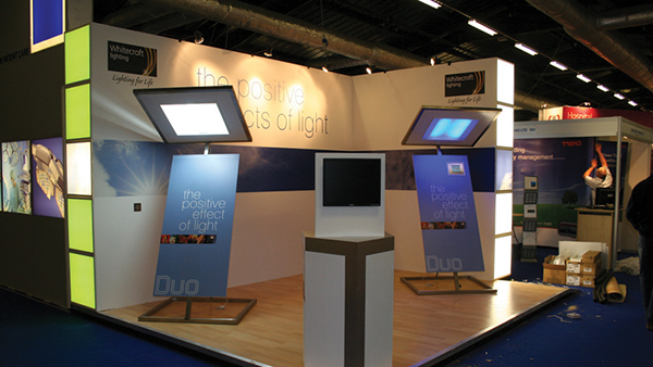 T3 modular exhibition stand system 2